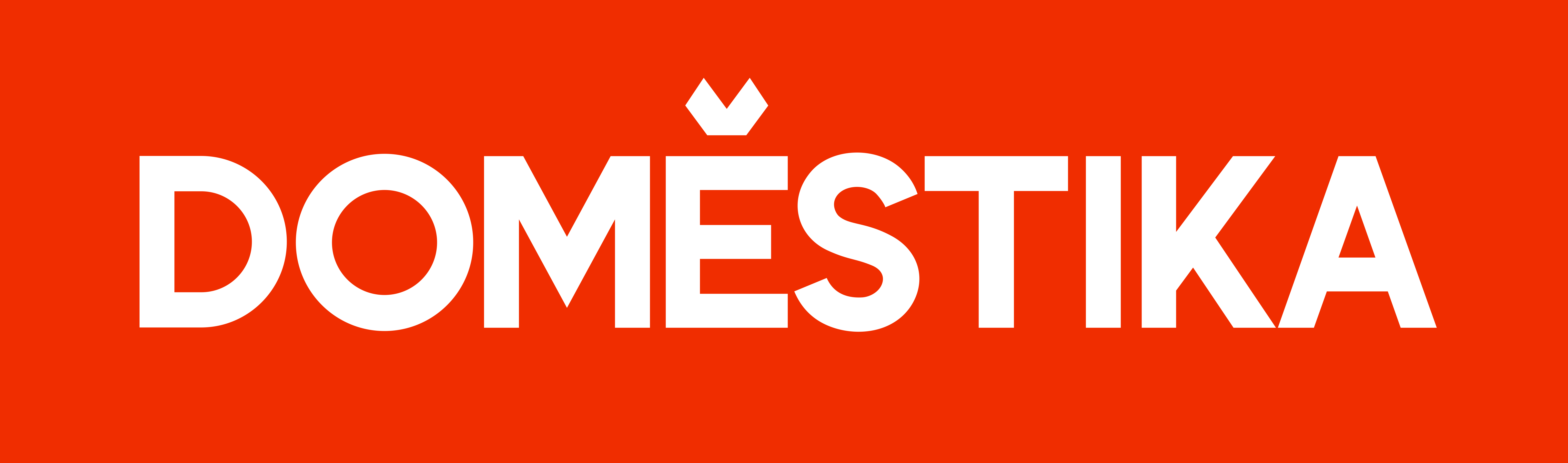Domestika - white logo (Red background #F02D00).png