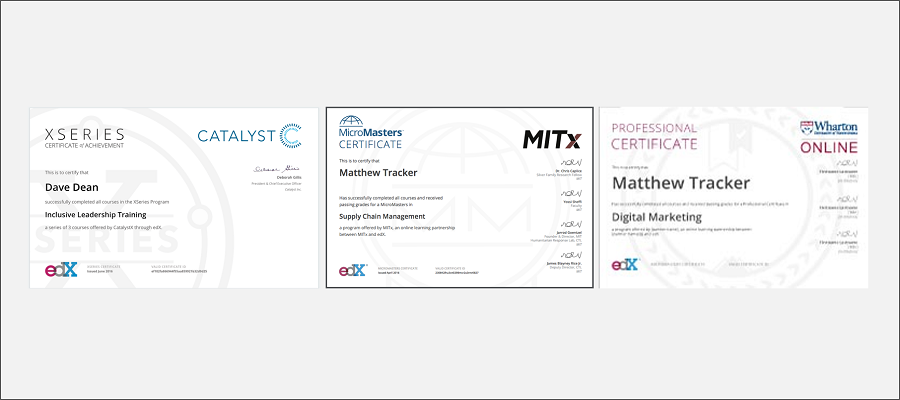 Making Sense of edX Certificate Programs | MoocLab - Connecting ...