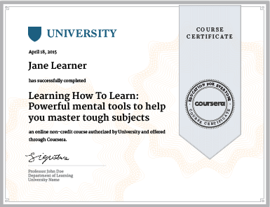 Is getting a verified certificate on Coursera worth it