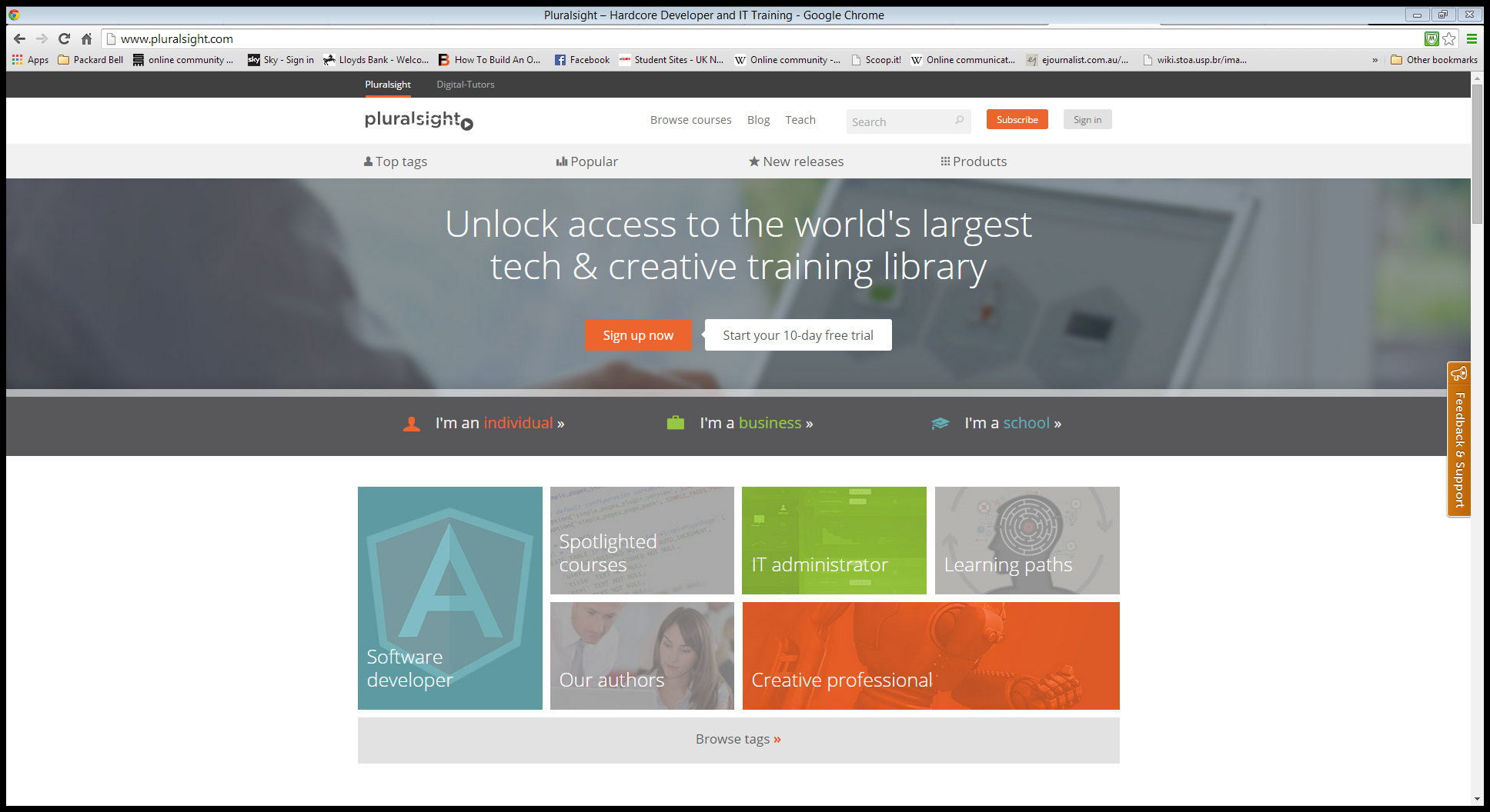 pluralsight mooclab connecting people to online learning